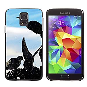 Super Stellar Slim PC Hard Case Cover Skin Armor Shell Protection // M00125633 Pigeons Wings Birds Fly // Samsung Galaxy S5 S V SV i9600 (Not Fits S5 ACTIVE)
