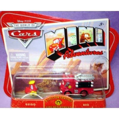 Disney Cars Mini Adventures Guido & Red (Red & Yellow)
