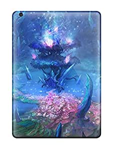 Ultra Slim Fit Hard Ron-cat Case Cover Specially Made For Ipad Air- Final Fantasy Xii Revenant Wings