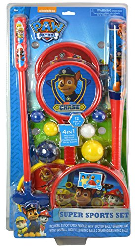 Paw Patrol Super Sports Set (Set Bats Super)