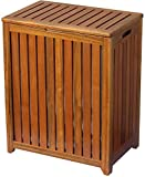 Spa Hamper- Material: Solid wood- Overall: 24.75'' H x 20'' W x 13.25'' D