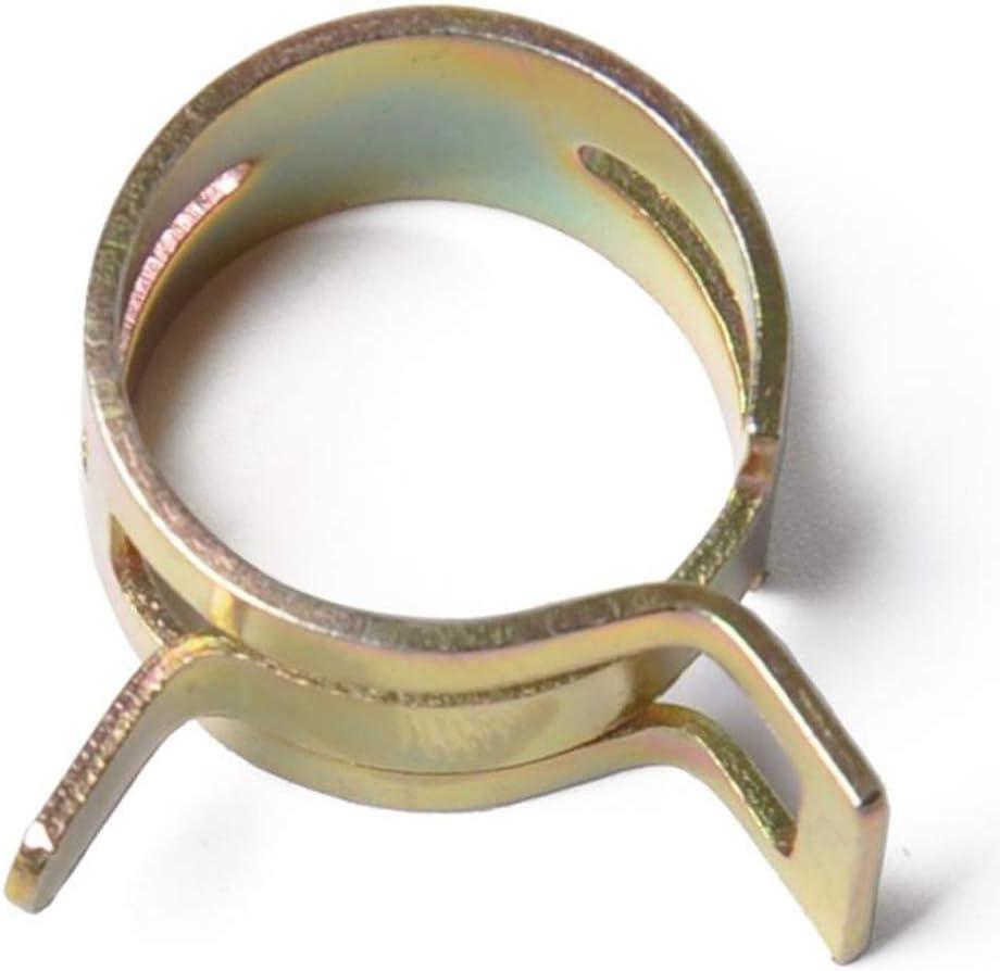 non-brand 8 Gr/ö/ße 160 St/ücke 6-17mm Federschlauch Clips Kraftstoffleitung Wasserleitung Luftschlauch Silikon Vakuum Schlauchschelle Verschluss