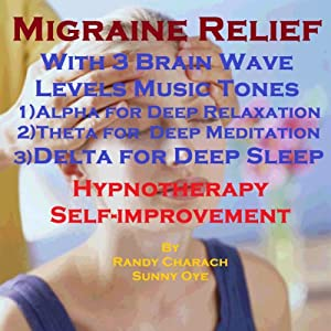 Migraine Relief with Three Brainwave Music Recordings Speech