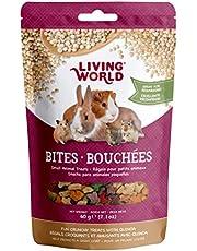 Living World 60390 Small Animal Bites with Quinoa, 60gm