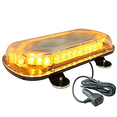 LAMPHUS SolarBlast 6W LED Volunteer Personal Vehicle POV Deck Grille Strobe Warning Light Head ( OTHER COLOR AVAILABLE )