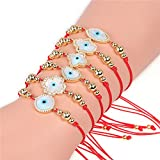 Red String Evil Eye Bracelet for Women - Hamsa Hand