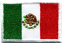 Flag of Mexico Mexican Bandera Embroidered Applique Iron-on Patch Medium S-347 T- Shirt