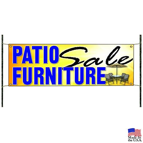 Patio Furniture Sale Outdoor Dining Pergola Advertising Vinyl Banner Sign (Furniture Patio Ebay)