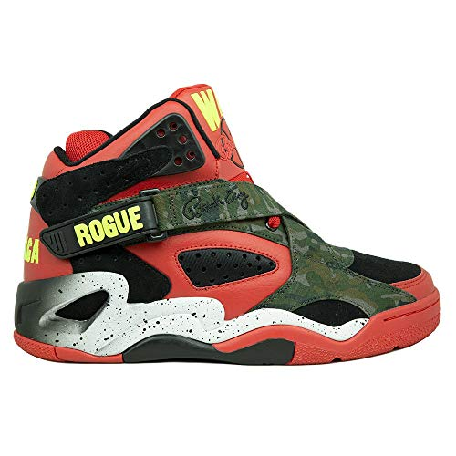 PATRICK EWING Athletics Rogue x Capone-N-Noreaga Red/Black/Camo War Report 1BM00586-995EXEMPT from