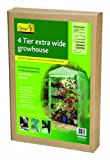 Gardman Extra Wide Growhouse With Reinforced Cover