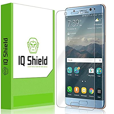 Galaxy Note 7 Screen Protector, IQ Shield® LiQuidSkin Full Coverage Screen Protector for Samsung Galaxy Note 7 HD Clear Anti-Bubble Film - with Lifetime Warranty