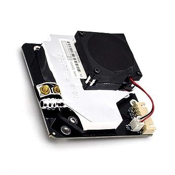 Sunronal Sensor de PM SDS011 Sensor de Polvo de Alta precisión Aire PM2.5 PM10 Detección de Calidad Sensores de Polvo Salida Digital: Amazon.es: Electrónica