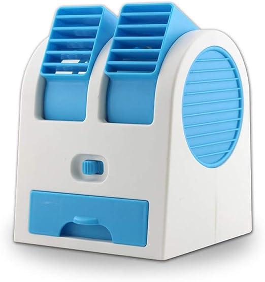LIUXIA - Mini ventilador de refrigeración portátil para escritorio ...