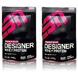 ESN Designer Whey Protein 2 x 1000g Beutel - Strawberry White Chocolate