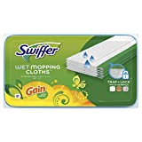 Swiffer Sweeper Wet Mopping Pad Multi Surface Refills for Floor Mop, Gain scent, 24 Count