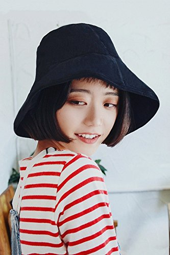 Generic new_ autumn winter _corduroy hat women girls _Korean_style_of tide street_awnings versatile_Casual_Day_is_a_solid_color_basin_ cap hat _male Street Corduroy