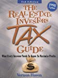 img - for The Real Estate Investor's Tax Guide : What Every Investor Needs by Vernon Hoven (1998-01-01) book / textbook / text book