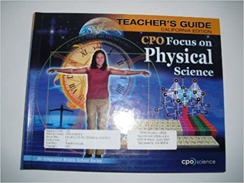 Cpo focus on physical science california teachers guide cpo cpo focus on physical science california teachers guide cpo science taylor reed 9781588922618 amazon books fandeluxe Image collections