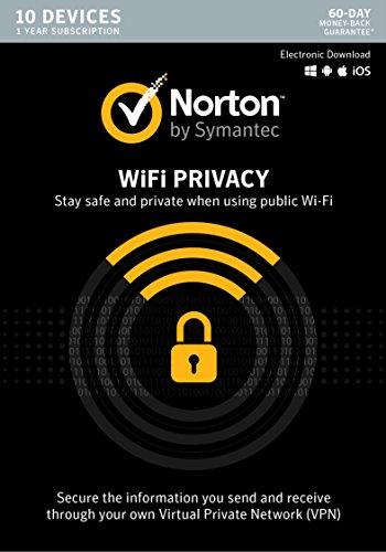 Norton Wifi Privacy Vpn   10 Devices  Key Card