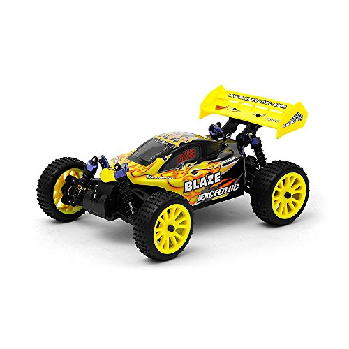 1/16 2.4Ghz Exceed RC Blaze EP Electric RTR Off Road Buggy (Fire Yellow) (Buggy Off Road Powered)