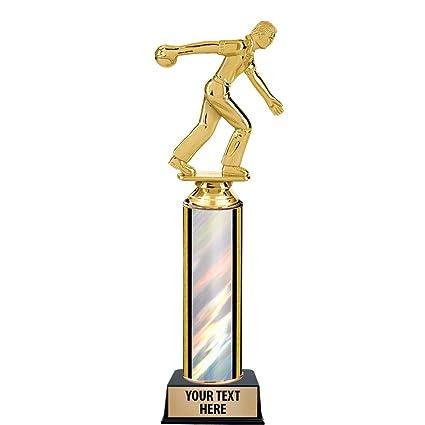Ten Pin Bowling Trophy Male