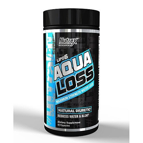 Nutrex Research Lipo 6 Aqua Loss 80 caps