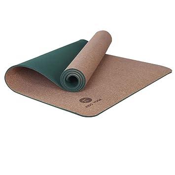 LMSHM Yoga Mat TPE Cork 183 * 66 * 0.6Cm Estera De Yoga Sin ...