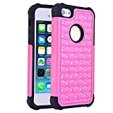 iPhone SE Case, Laxier(TM) Premium Ultra Thin Shock Proof Protective Case For Apple iPhoneSE (The case also compatible with iPhone 5S)