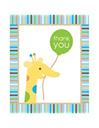 Creative Converting Sweet at One Boys Thank You Notes, 8 Count BOBEBE Online Baby Store From New York to Miami and Los Angeles