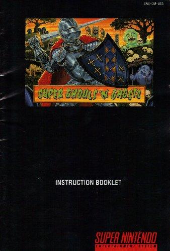 Super Ghouls 'N Ghosts SNES Instruction Booklet (Super Nintendo Manual Only) (Super Nintendo Manual)