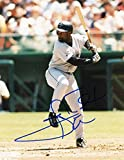 CARL EVERETT HOUSTON ASTROS SIGNED AUTOGRAPHED AT BAT 8X10 PHOTO W/COA