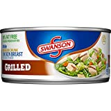 Swanson White Premium Chunk Chicken Breast, Grilled, 9.75 Ounce (Packaging May Vary)