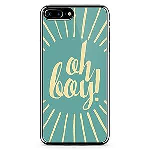 Loud Universe iPhone 7 Plus Transparent Edge Case - Oh Boy