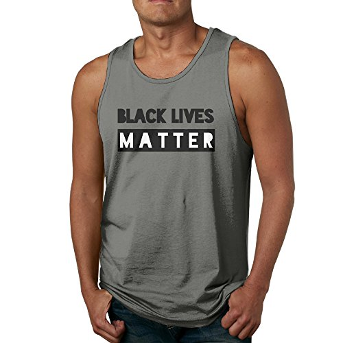 Luyudong Black Lives Matter Men's Sports Sleeveless T-shirt XL - Shirt Los Frame London Angeles