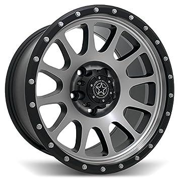 Amazon Com Dwg Off Road Wheels Dw 10 Rim Size 17x9 5x127 83 82