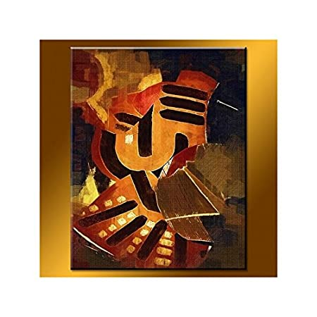 Autumn Fabric - Table peint-main Oil painting: Amazon co uk