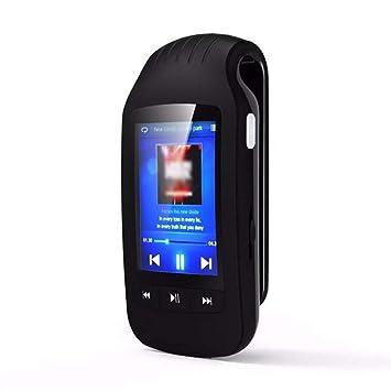 XWWS Reproductor MP3, 8 GB Bluetooth Mini Clip Reproductor De Mp3 ...
