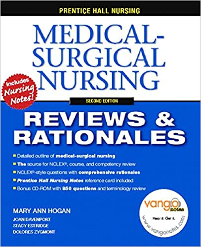 Prentice Hall Nursing Reviews Rationales Medical Surgical