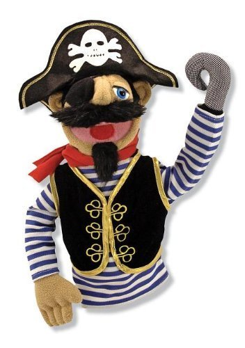 Melissa & Doug Pirate Puppet With Detachable Wooden