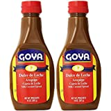 Goya Dulce de Leche, Milk Caramel Spread, 14 Oz (2 pack) Arequipe - Cajeta de Leche