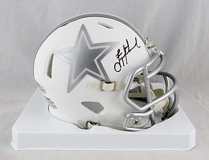 reputable site 92ea0 f9e6d Amazon.com: Troy Aikman Autographed Dallas Cowboys Ice Mini ...