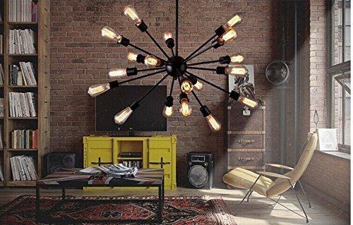 Replica Design Lampen : Sarfatti replica industrie new york loft satellite anhänger lampe