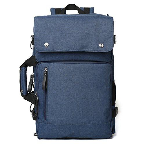 Lightweight Laptop Backpack Sturdy Pack Go to Bag Schoolbag for Boy Girl Outdoor Sport Blue