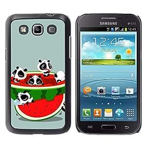 LECELL -- Funda protectora / Cubierta / Piel For Samsung Galaxy Win I8550 I8552 Grand Quattro -- Funny Cute Animals & Watermelon --