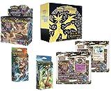 ULTIMATE SET! Pokemon Forbidden Light Sun & Moon Booster Box, Elite Trainer, Both Theme Decks & 3-Pack Blister Coin Sets!!