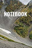 Notebook by GIGO: Notebook, Diary - Large (9.5 x 12,5 inches,6 x 9) - 100 Sheets of Lined Paper - 0001 - Mountainside (NOTEBOOK lined)