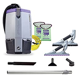 Proteam Super Coach Pro 6 QT Backpack Vacuum Cleaner with ProBlade Tool Kit