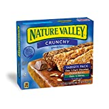 Nature Valley Granola Bars, Crunchy, Variety Pack of Oats 'n Dark Chocolate, Peanut Butter, Oats 'n Honey, 12-Bars Per Box (Pack of 6) Review