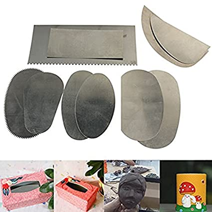COMIART 4-Piece Clay Hole Cutters for Pottery Sculpture Modeling Toot Set