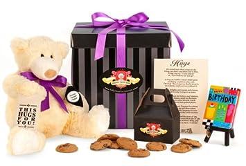 Amazon Happy Birthday Hugs Gift Package Gourmet Snacks And